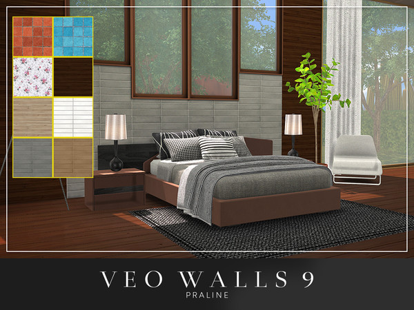 VEO Walls by Pralinesims at TSR image 6221 Sims 4 Updates