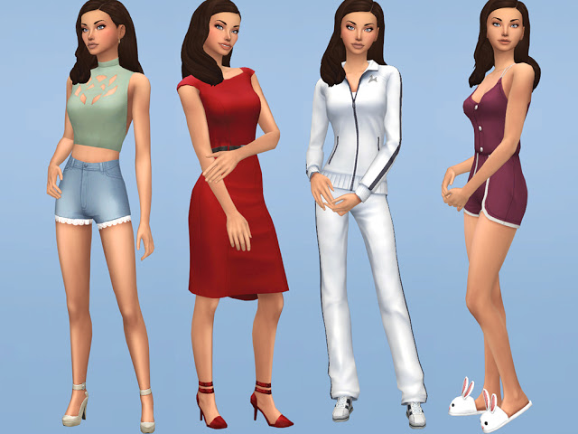 Sims 4 Estrella Juarez at MSQ Sims