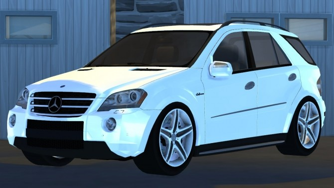 2009 Mercedes Benz ML63 AMG at Tyler Winston Cars image 636 670x377 Sims 4 Updates