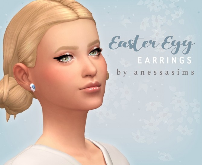 Easter egg earrings at Anessa Sims image 6416 670x548 Sims 4 Updates
