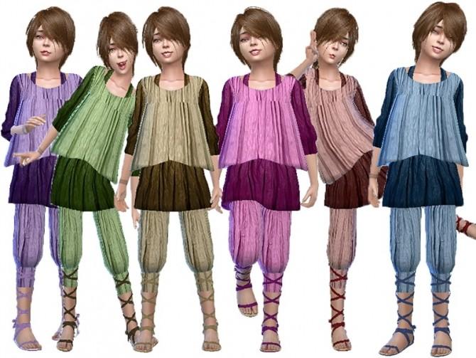 Sims 4 Magnolia pearl dress at Trudie55