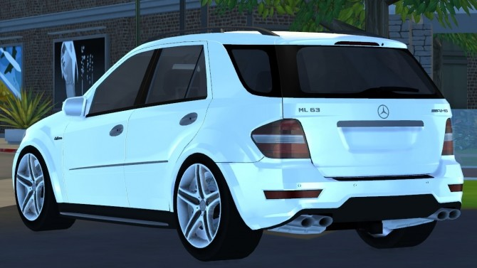 2009 Mercedes Benz ML63 AMG at Tyler Winston Cars image 646 670x377 Sims 4 Updates