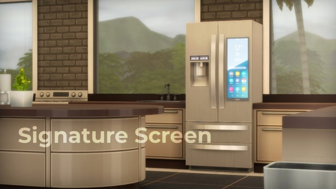 H&B Portal 3.0 Expensive Refrigerator by littledica at Mod