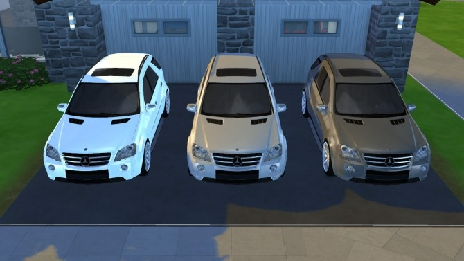 2009 Mercedes Benz ML63 AMG at Tyler Winston Cars image 656 670x377 Sims 4 Updates