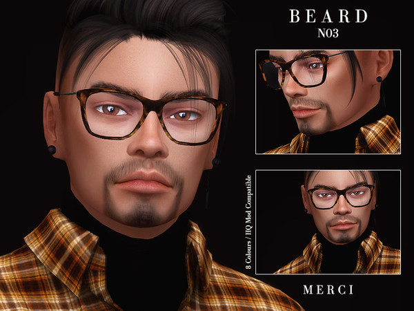 Sims 4 Beard N03 by Merci at TSR