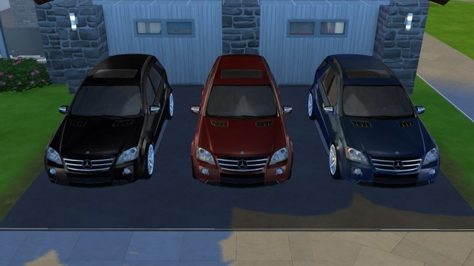 2009 Mercedes Benz ML63 AMG at Tyler Winston Cars image 666 670x377 Sims 4 Updates