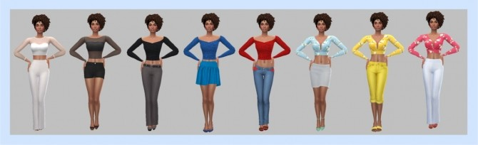 EP02 SLEEVED CROP TOP at Sims4Sue image 668 670x204 Sims 4 Updates