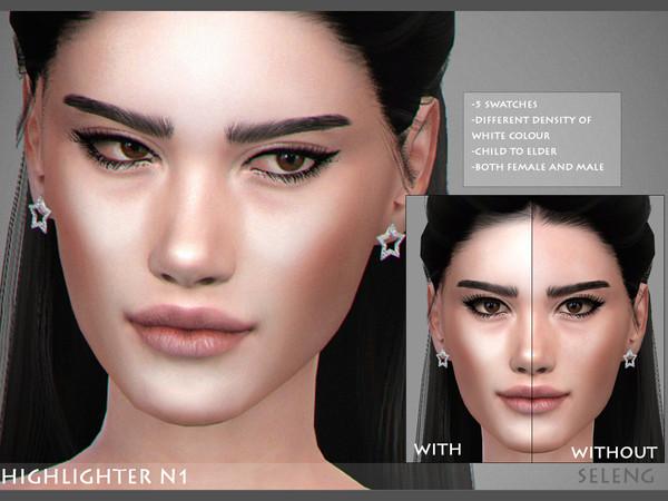Sims 4 Highlighter N1 by Seleng at TSR
