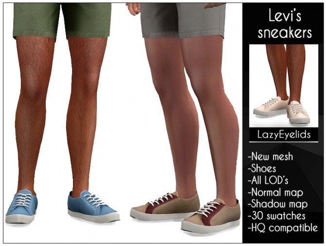 Sims 4 Sneakers at LazyEyelids