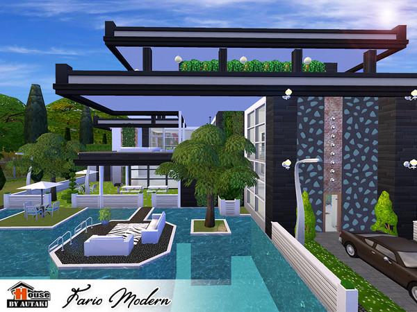 Fario Modern luxury house by autaki at TSR image 6718 Sims 4 Updates