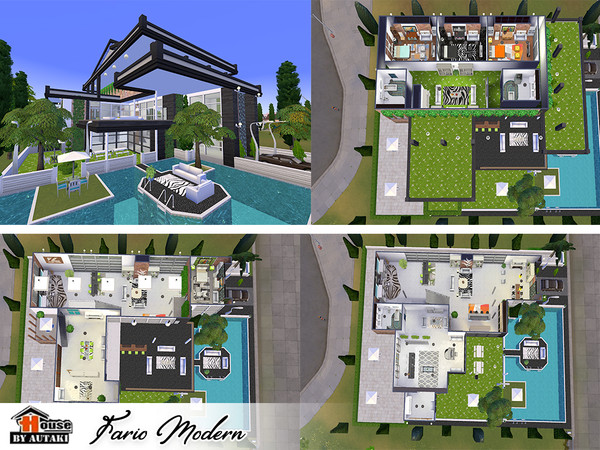 Fario Modern luxury house by autaki at TSR image 6820 Sims 4 Updates