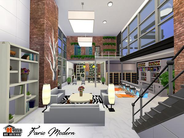 Fario Modern luxury house by autaki at TSR image 6919 Sims 4 Updates