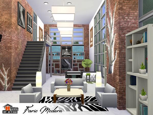 Fario Modern luxury house by autaki at TSR image 7019 Sims 4 Updates