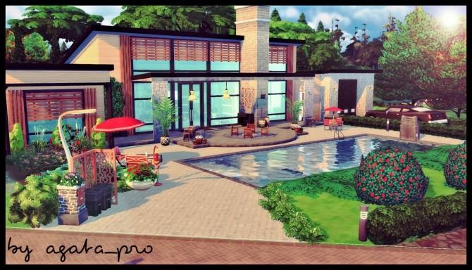 Willowcreek Mansion at Agathea k image 707 670x384 Sims 4 Updates