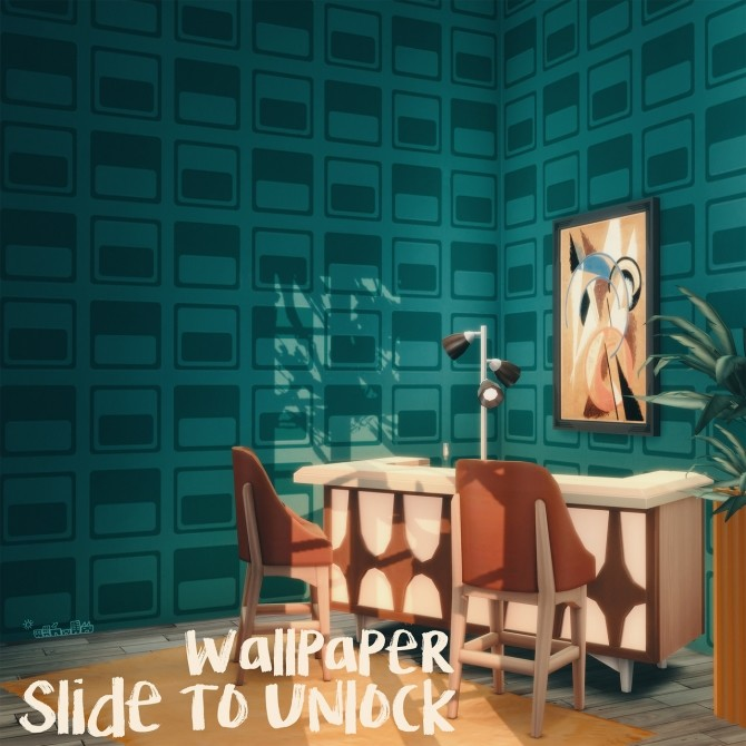 SLIDE TO UNLOCK WALLPAPER at Picture Amoebae image 7116 670x670 Sims 4 Updates