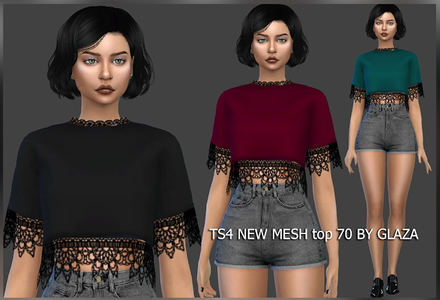 Top 70 at All by Glaza image 7213 Sims 4 Updates