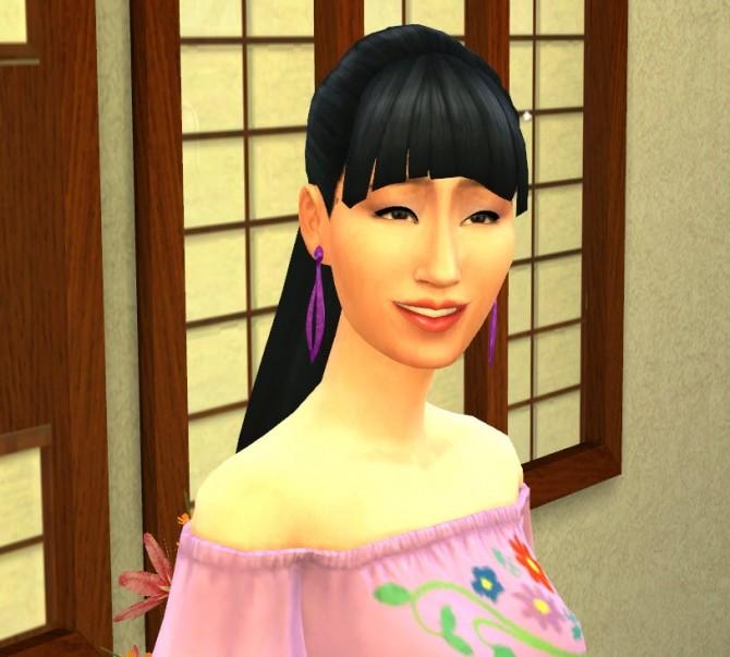 Sims 4 Akasuki Takashi by porkypine at Mod The Sims