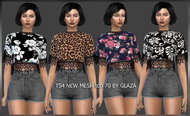 Top 70 at All by Glaza image 7312 Sims 4 Updates