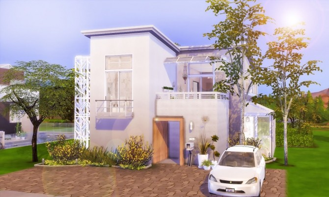 Minimalist Home at Ruby's Home Design image 7521 670x401 Sims 4 Updates