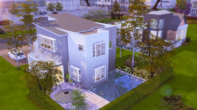Sims 4 Minimalist Home at Ruby's Home Design
