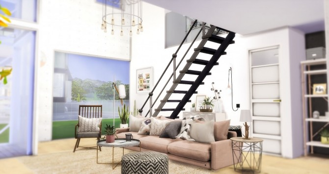 Minimalist Home at Ruby's Home Design image 7920 670x355 Sims 4 Updates
