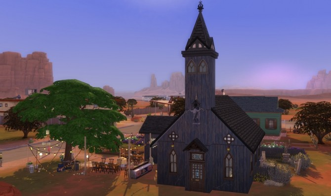 Church Of Our Mother Almighty at Alexpilgrim image 794 670x398 Sims 4 Updates