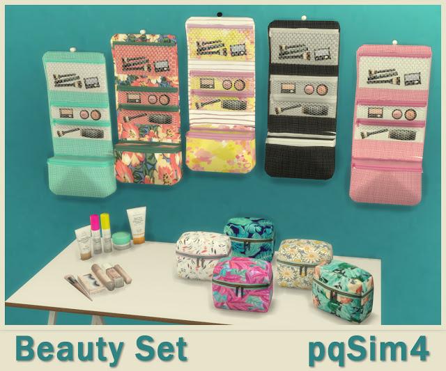 Sims 4 Beauty Set at pqSims4