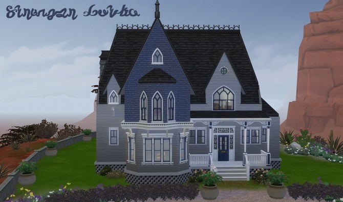 Stranger Gothic windows at Alexpilgrim image 834 670x394 Sims 4 Updates