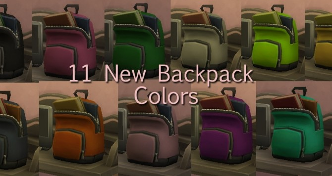 Dont Break Your Back Backpack Recolors by BadeLavellan at Mod The Sims image 8418 670x356 Sims 4 Updates