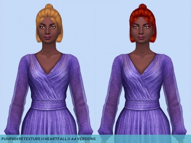 Sims 4 Nightcrawlers hair retextures at Heartfall