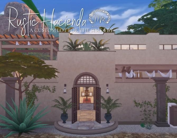 RUSTIC HACIENDA at Milja Maison image 857 670x523 Sims 4 Updates
