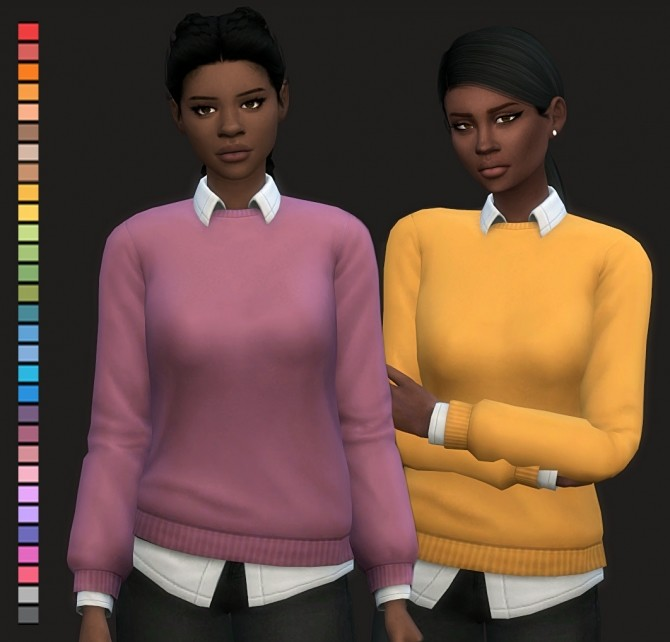 April Sweatshirt at Maimouth Sims4 image 8613 670x642 Sims 4 Updates
