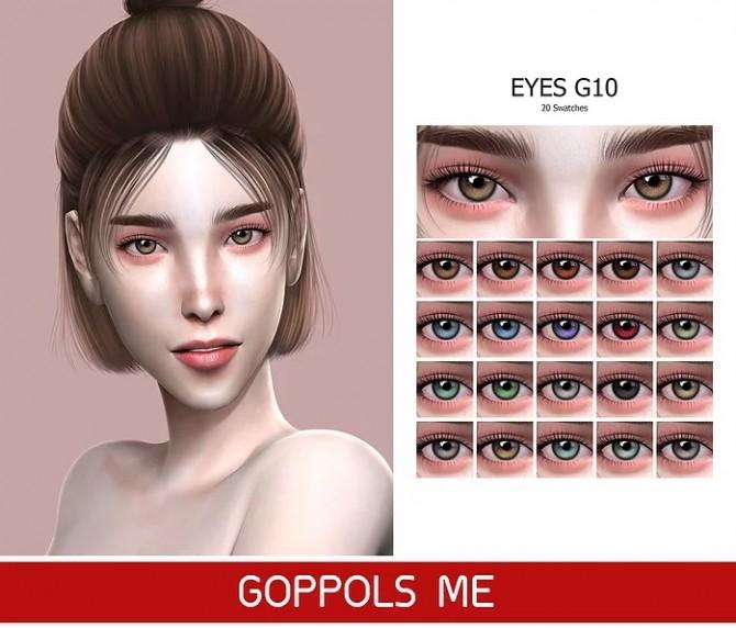 GPME GOLD Eyes G10 at GOPPOLS Me image 8713 670x572 Sims 4 Updates