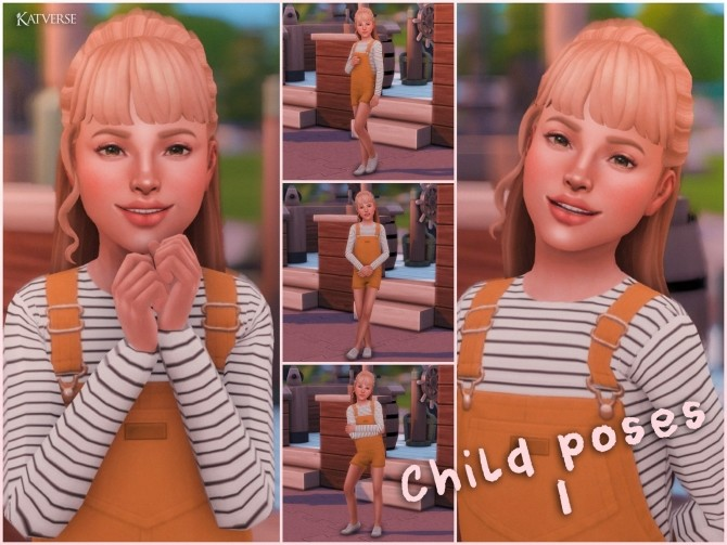 Sims 4 Child Pose Pack 01 at Katverse