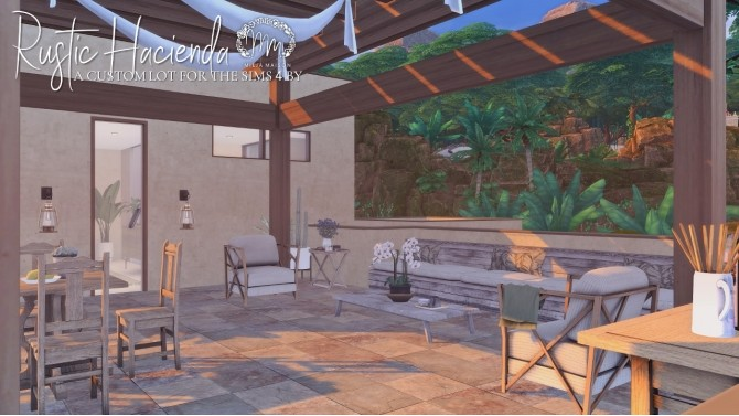 RUSTIC HACIENDA at Milja Maison image 9110 670x377 Sims 4 Updates