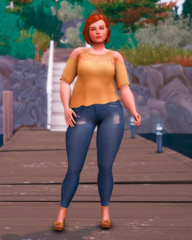 Sims 4 Harper at Katverse