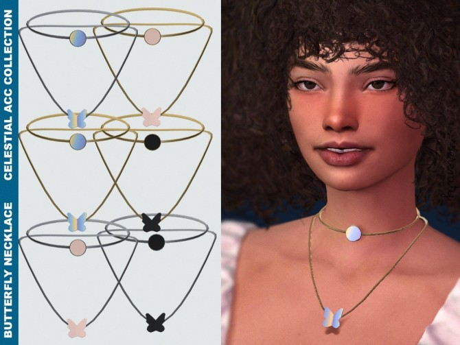Sims 4 Celestial Acc Collection at SERENITY