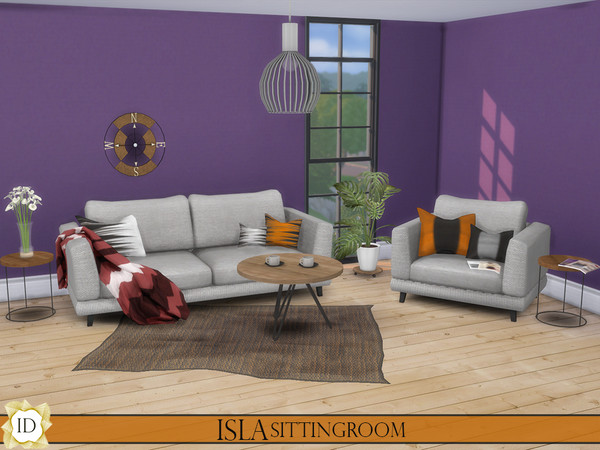 Sims 4 Sitting room by ISLA Design at TSR