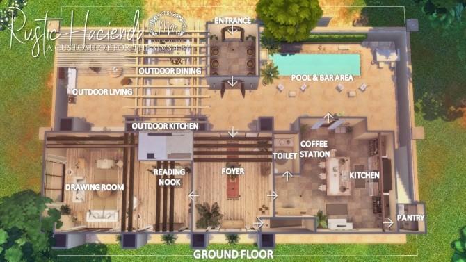 RUSTIC HACIENDA at Milja Maison image 927 670x377 Sims 4 Updates