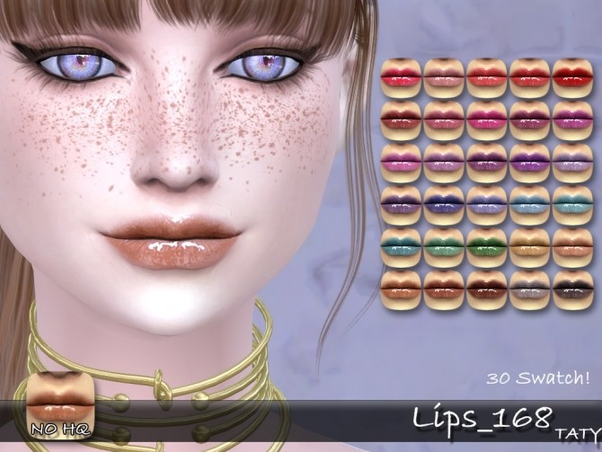 Sims 4 LIps 168 at Taty – Eámanë Palantír