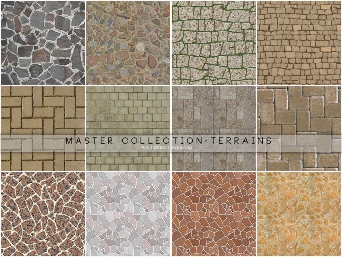 Master Collection 77 Terrain Paints at Cross Architecture image 9316 670x503 Sims 4 Updates