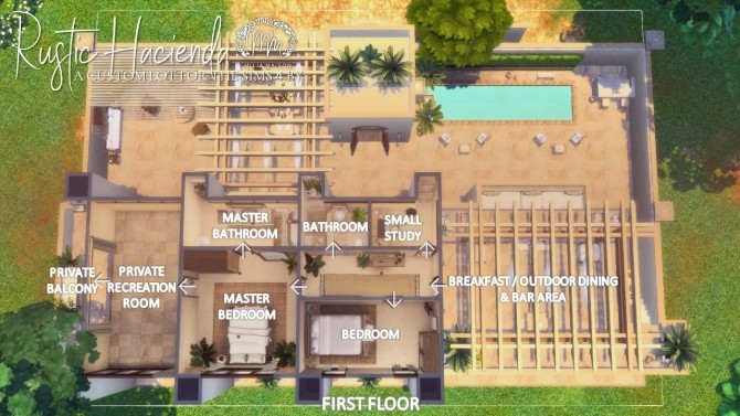 RUSTIC HACIENDA at Milja Maison image 936 670x377 Sims 4 Updates