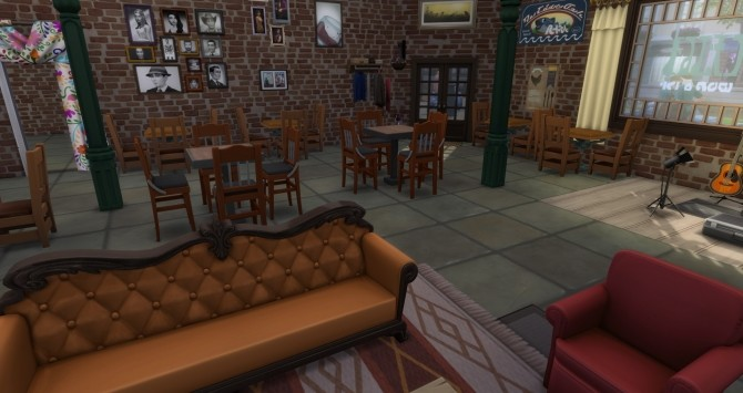 Central Perk FRIENDS NO CC by Astonneil at Mod The Sims