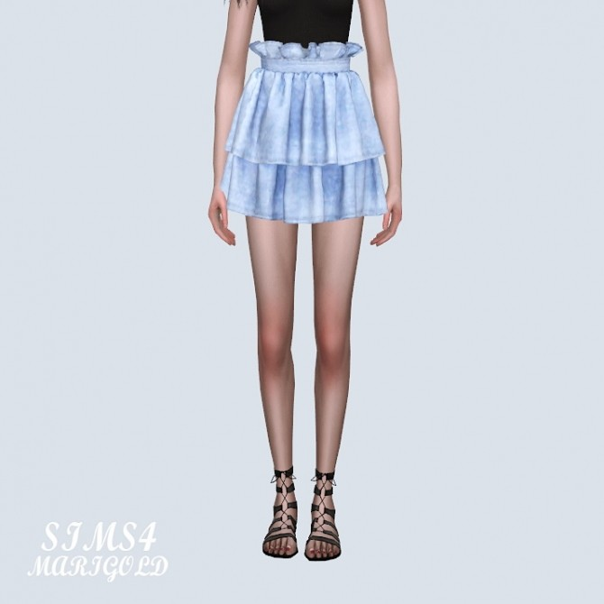 Tiered Skirt 2 at Marigold image 9712 670x670 Sims 4 Updates