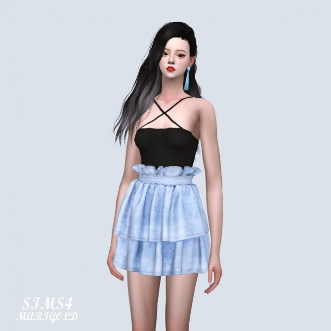 Tiered Skirt 2 at Marigold image 9811 670x670 Sims 4 Updates