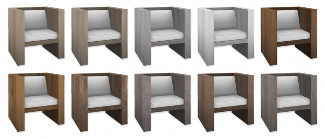 Sims 4 Outdoor Chair at SimPlistic