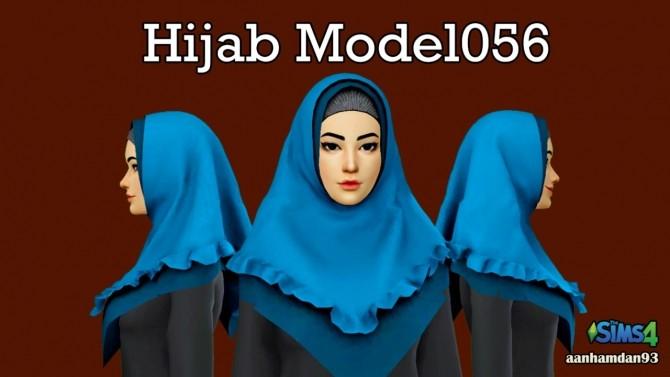 Hijab Model 056, Bodo set & Fish Dress with Slogan Shawl at Aan Hamdan Simmer93 image 997 670x377 Sims 4 Updates