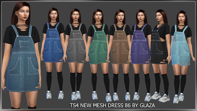 Sims 4 Dress 86 (P) at All by Glaza