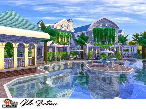Villa Buntawee by autaki at TSR image 10103 Sims 4 Updates