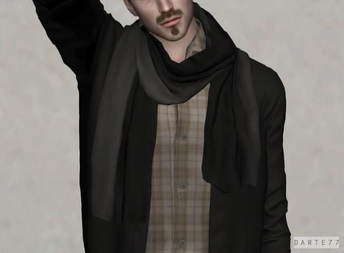 Sims 4 Cotton Scarf at Darte77